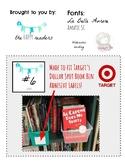 Watercolor Bunting Book Bin Labels (to fit Target adhesive