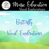 Watercolor Butterfly Vocal Exploration