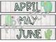 Watercolor Cactus Calendar