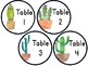 Watercolor Cactus Table Numbers (Extended Pack)