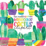 Cactus Clipart Watercolor
