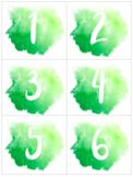 Watercolor Calendar Bundle: Classroom Decor