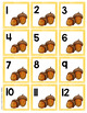 Watercolor Calendar Numbers - Fall Themed