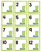 Watercolor Calendar Numbers - Winter Themed