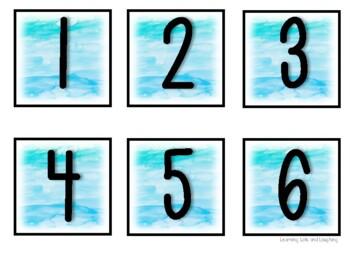 Watercolor Calendar Set!