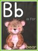 Watercolor Chalk Alphabet Cards