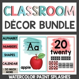 Watercolor Class Decor Bundle