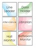 Watercolor Class Jobs Chart