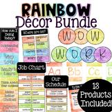 Rainbow Classroom Decor