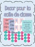 Watercolor Classroom Decor {FRENCH Version}