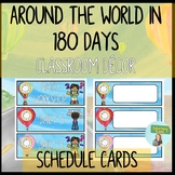 Watercolor Classroom Decor Pack: Daily Schedule Cards