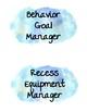 Watercolor Classroom Jobs & Job Descriptions