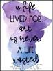 Watercolor Classroom Quotes