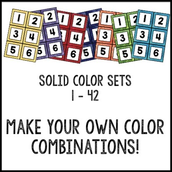 Watercolor Decor: FREE Classroom Numbers