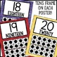 Watercolor Decor: Number Posters