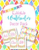 Classroom Decor Pack-Diamond Watercolor
