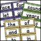 Watercolor Decor: Word Wall Set