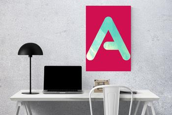 Watercolor Digital Alphabet, Printable Alphabet, Digital Alphabet Letters