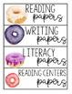 Watercolor Donut Classroom Decor Growing Bundle