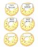 Editable Watercolor Donut Themed Back To School Wishlist