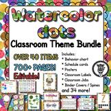 Watercolor Dots Theme