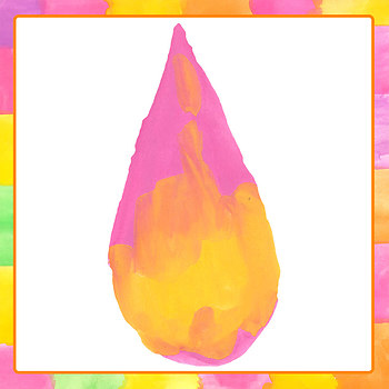 Watercolor Drops of Color Clip Art Set for Commercial Use