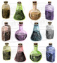 Watercolor Earthy Potions Clipart