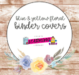 Watercolor Floral Binder Cover