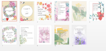 Watercolor, Floral, and Travel Theme Posters