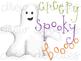Watercolor Ghosts Digital Clip Art Set