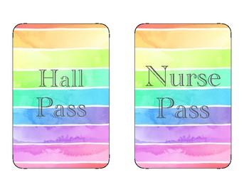 Watercolor Hall passes
