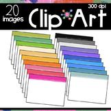Watercolor Headers Clipart