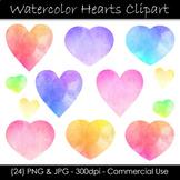 Watercolor Heart Clip Art