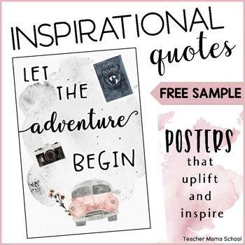 Inspirational Quotes Posters Banners: World Travel