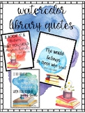 Watercolor Library Quotes