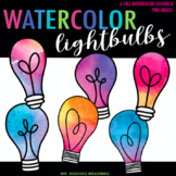 Watercolor Lightbulbs