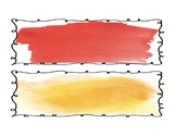 Editable Watercolor Name Tags