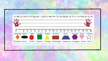 Watercolor Nametag