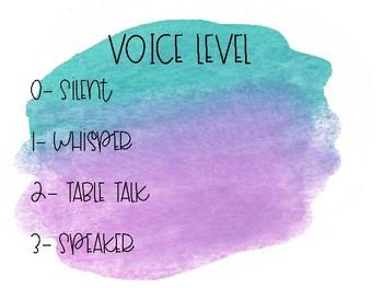 Watercolor Noise/Voice Level