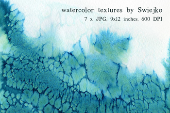 Watercolor Ombre Paper set