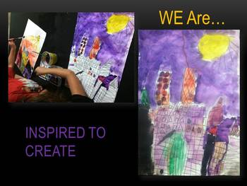 Elementary Art Lesson K: Paul Klee Castle and Sun Watercolors & Marzano DQ