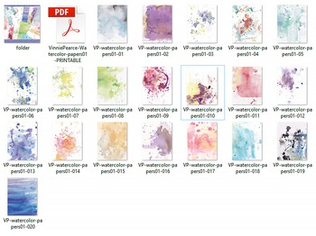 Watercolor Papers 01