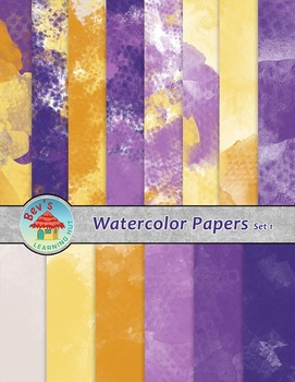 Backgrounds [Watercolor Papers 1]