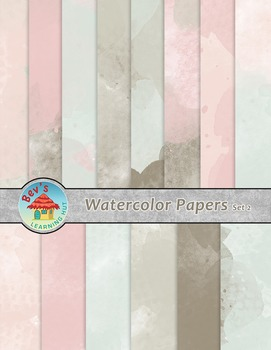 Backgrounds [Watercolor Papers 2]