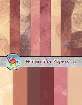 Backgrounds [Watercolor Papers 3]