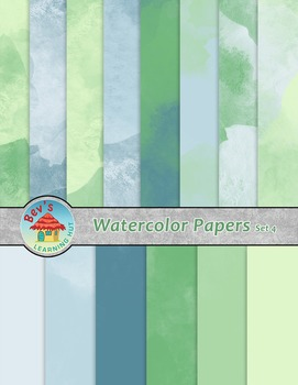Backgrounds [Watercolor Papers 4]