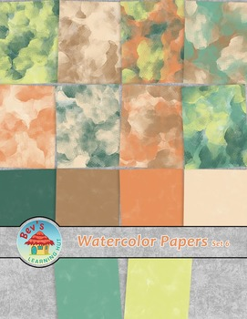 Backgrounds [Watercolor Papers 6]