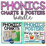 Phonics Charts and Posters BUNDLE