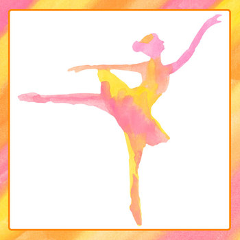 Watercolor Pictures - Ballet / Ballerina Clip Art Set for Commercial Use