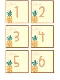 Watercolor Pineapple Calendar